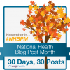 I am participating in Wego Health's National Health Blog Post Month where I will be writing 30 posts in 30 days. We are given different topics each day to talk about. I hope you will all follow along as all of the participants are trying to bring education and awareness to the diseases that affect them so dearly.